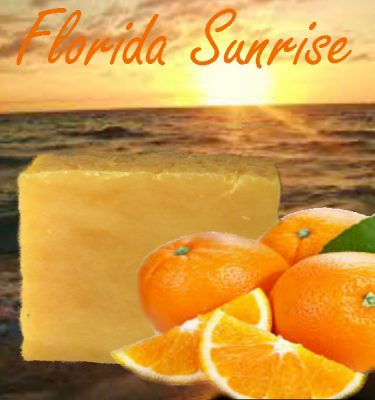 florida sunrise soap