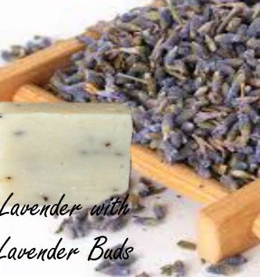 lavender with lavender buds soap