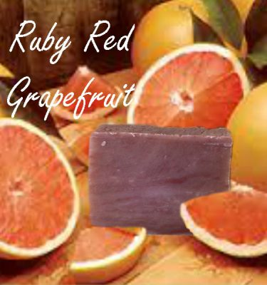 ruby red grapefruit soap