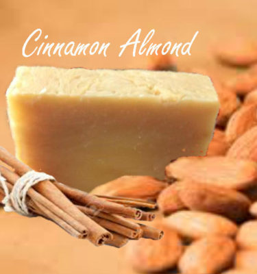 cinnamon almond soap