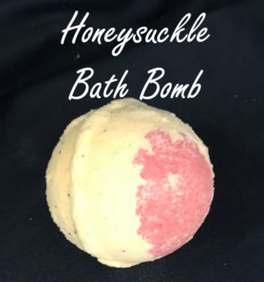 honeysuckle bath bomb